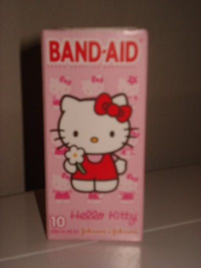 Hello Kitty bandaids