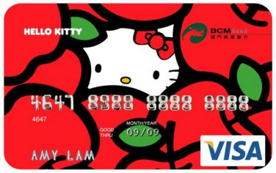 Hello Kitty credit card apple