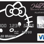 hello kitty credit card black