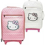 Hello Kitty pink suitcase