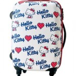 hello kitty roller suitcase