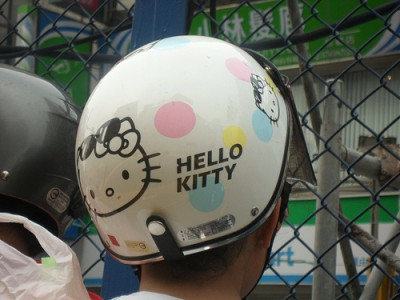 Hello Kitty Scooter Helmet Hello Kitty Helmet