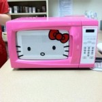 hello kitty microwave oven