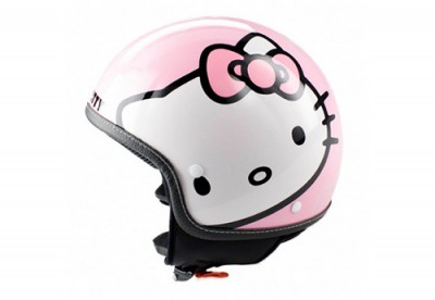 hello kitty pink helmet