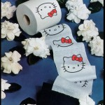 hello kitty toilet paper roll