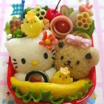Hello Kitty cute bento