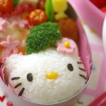 Hello Kitty rice ball