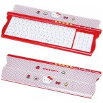 hello kitty keyboard red