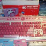 hello kitty pc keyboard