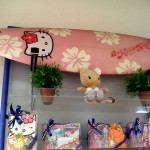 hello kitty surfboard