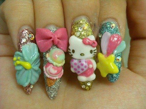 hello kitty finger nails FCO Rome   Piazza Campo de Fiori 3008x2000.jpg