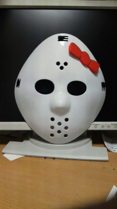 Hello Kitty Friday the 13th Jason mask