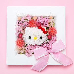 Hello Kitty flower frame