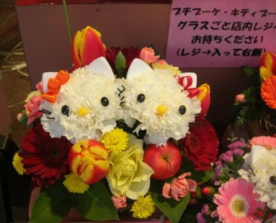 Hello Kitty Hello Mimmy flowers