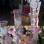 hello kitty pink bongs