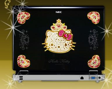 Hello Kitty laptop computer
