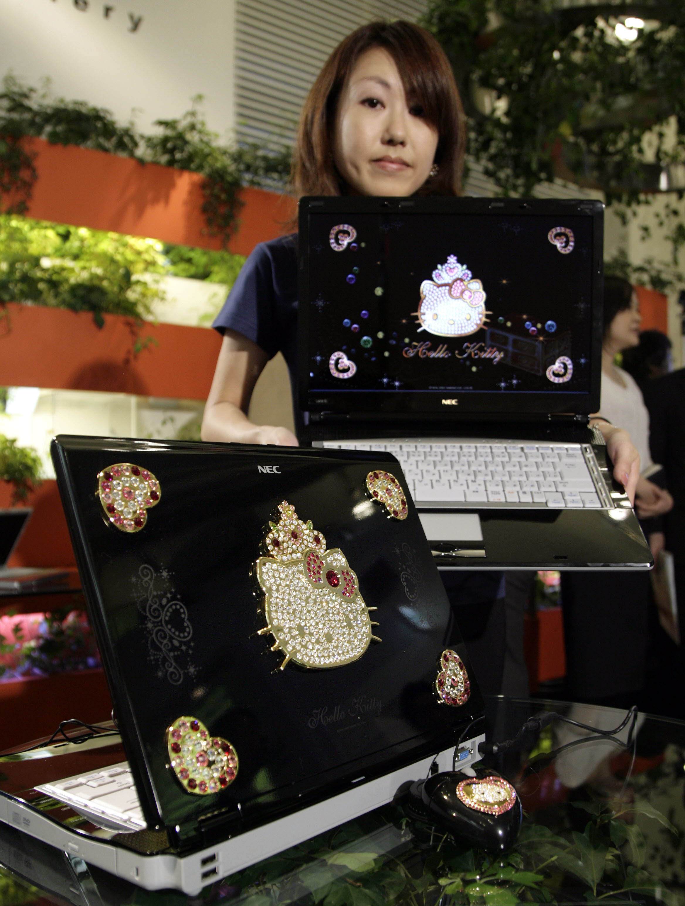 Hello Kitty Lavie computer