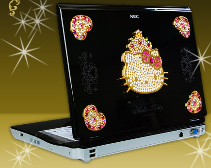 Hello Kitty NEC Laptop