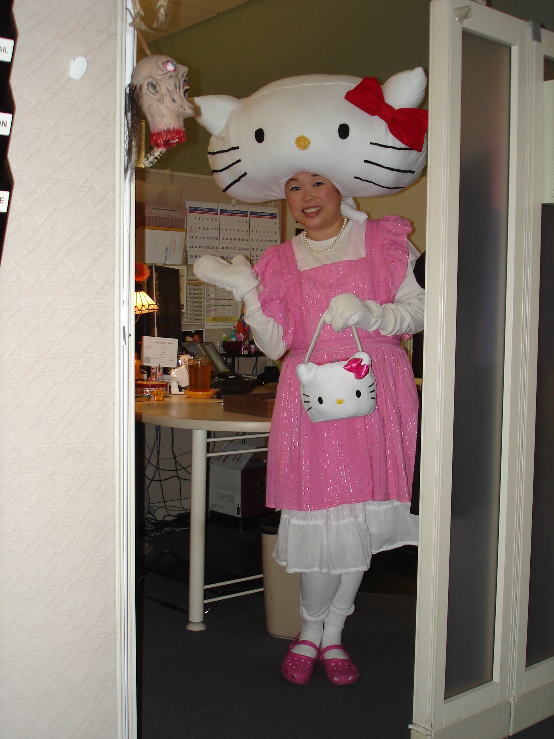 Hello Kitty Halloween costume