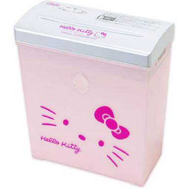 Hello Kitty paper shredder