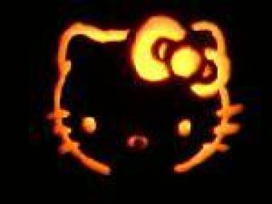 Hello Kitty pumpkin