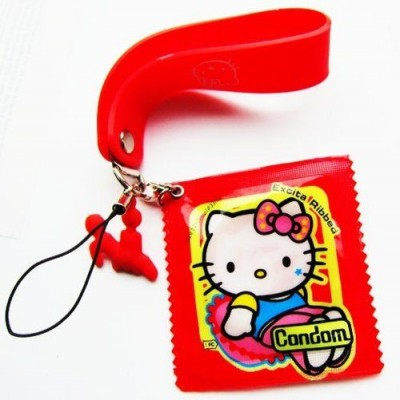 Hello Kitty condom