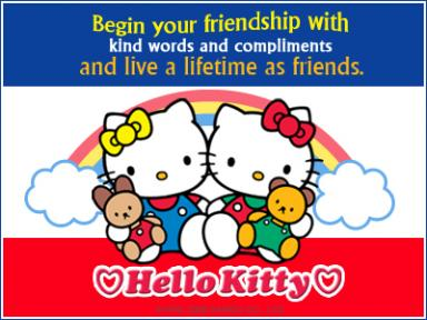 Hello Kitty ecard