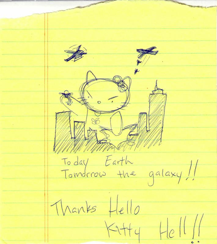 Hello Kitty Hell fan art