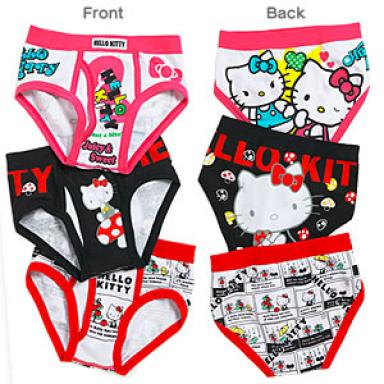 Hello Kitty underwear