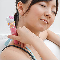 Hello Kitty vibrator should massager