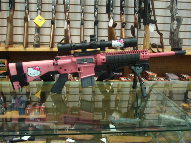 i kno i did this rite meh at least i did it >:3 lulz Hello-kitty-assault-rifle