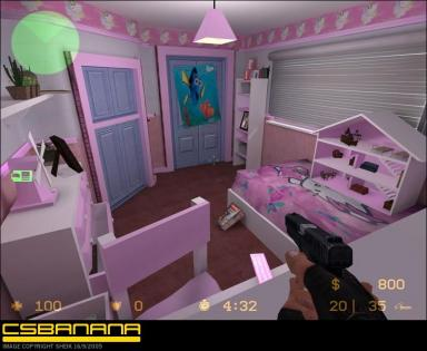 Hello Kitty Counter-Strike