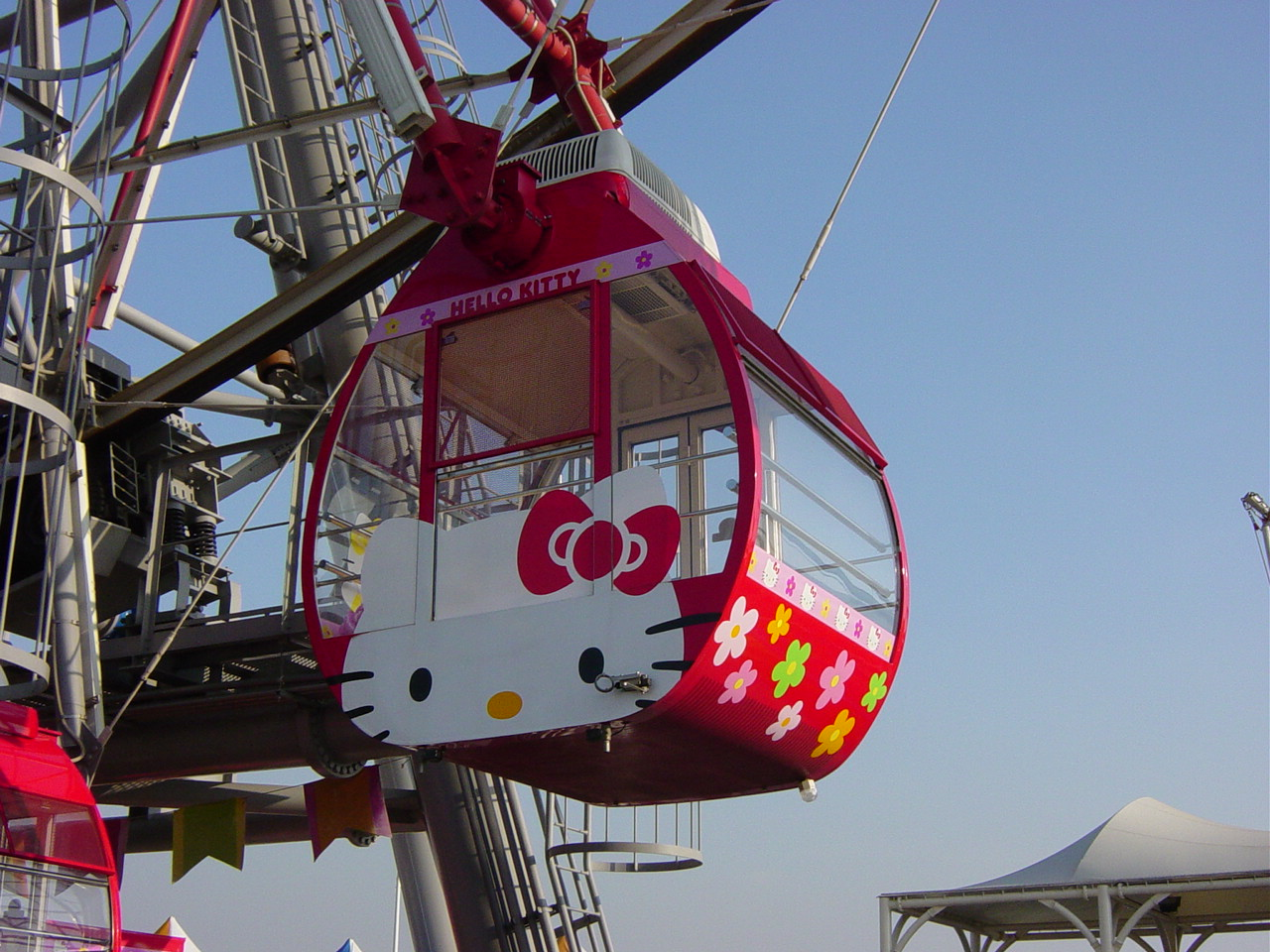 Hello Kitty ferris wheel