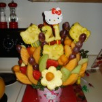 hello kitty fruit bouquet