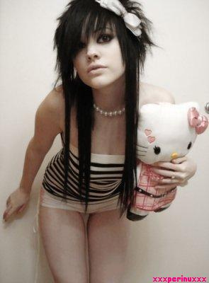 Hello Kitty sexy emo