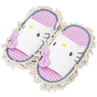Hello Kitty mop slippers