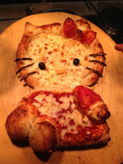 hello kitty pizza full body