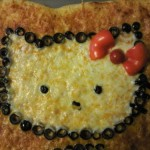 hello kitty square pizza
