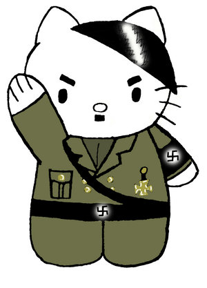 HELLO KITTY  Y SU LADO OSCURO - Página 2 Hello-kitty-hitler