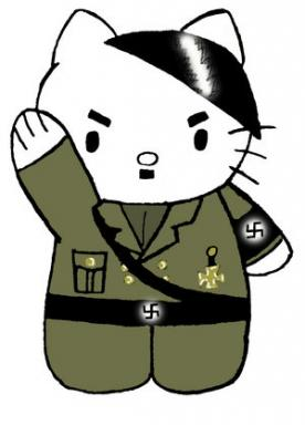 Hello Kitty Hitler