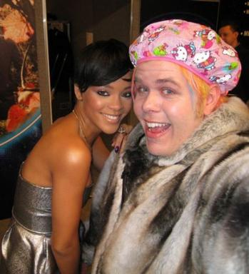 Hello Kitty Perez Hilton shower cap