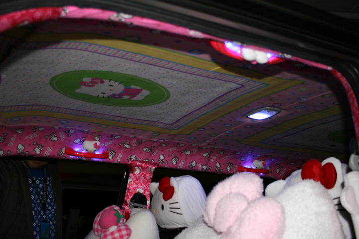 Hello Kitty Scion car