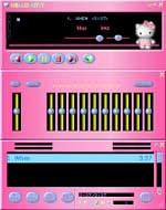 Hello Kitty WinAmp skin