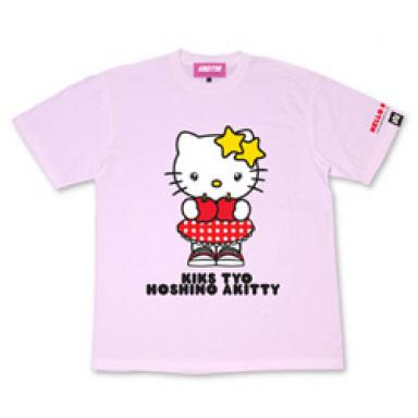 Hello Kitty Aki Hoshino T-shirt red