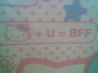 Hello Kitty BBF underwear