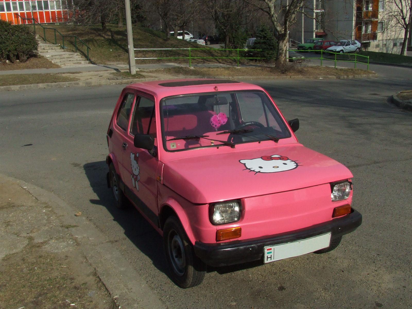 Hello Kitty Polski Fiat