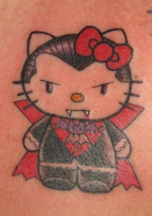 Hello Kitty tattoo 16