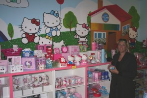 Hello Kitty world Vienna shop