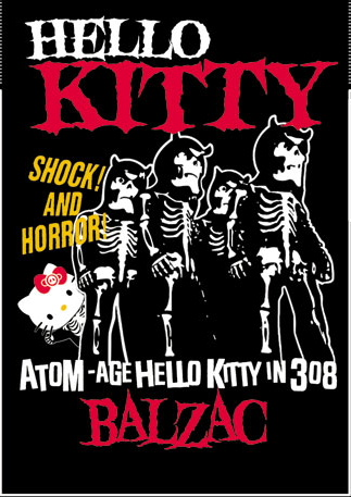 Hello Kitty shock and horror