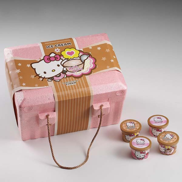 Hello Kitty ice-cream box